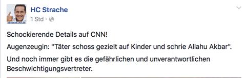Strache_München_Posting