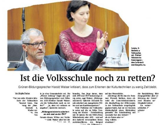 Walser_Volksschule_Wiener Zeitung_5.4.2016