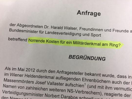 bundesheerdenkmal_anfrage